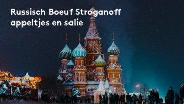 Russisch boeuf stroganoff