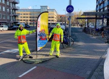 Verkeersregelaars snorfietsproject