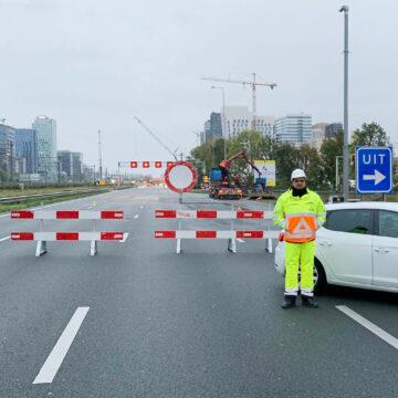 Project Zuidplus – afsluiting A-10 Amsterdam
